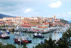 Bermeo, Basque Country, Spain. Fishing Village of Bermeo, Basque Country, Spain Royalty Free Stock Photos
