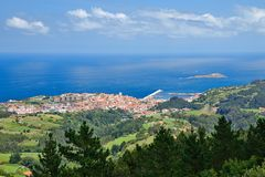 Bermeo, Hiszpania Zdjęcie Royalty Free