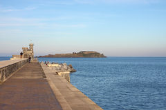 bermeo izaro νησιών Στοκ εικόνες με δικαίωμα ελεύθερης χρήσης