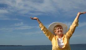 berömpensionär Royaltyfri Fotografi