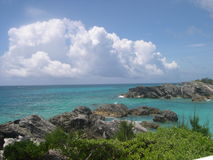 Bermuda. Along a beach in Bermuda royalty free stock photo