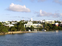 Bermuda. From the water as the sun was beginning to set Royalty Free Stock Image