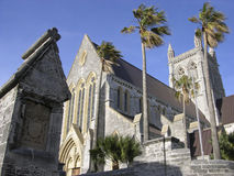 Bermuda Cathedral. The pride of Bermudians Bermuda Cathedral, Hamilton stock photo