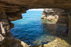 Bermuda Cave Formation Royalty Free Stock Photography