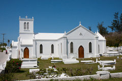 Bermuda church Royalty Free Stock Photos