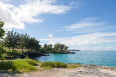 Bermuda Coast Rock Formations Stock Photography