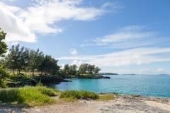 Bermuda Coast Rock Formations Stock Photography