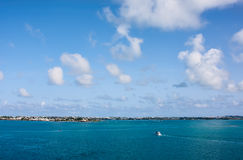 The Bermuda Coastline Royalty Free Stock Photos