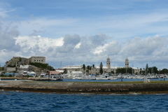 bermuda dockyard morski królewski Obrazy Royalty Free