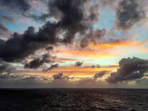 Bermuda-Dreieck Lizenzfreie Stockfotos