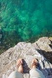 Bermuda faleza Zdjęcie Royalty Free