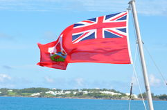 Bermuda Flag Royalty Free Stock Photo