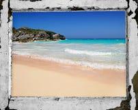 Bermuda frame Royalty Free Stock Photo