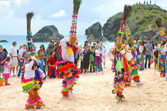 Bermuda Gombey Dancers Stock Photos