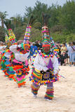 Bermuda Gombey Dancers Royalty Free Stock Image