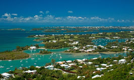 Bermuda Great Sound. The Great Sound of Bermuda, on a sunny day Stock Photography
