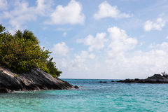 Bermuda havstrand Royaltyfri Fotografi
