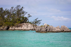 Bermuda havstrand Arkivfoto