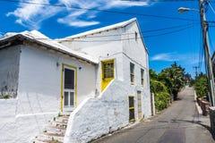 Bermuda Home on Road Royalty Free Stock Photo