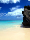 Bermuda horseshoe bay. Pink sand beach Royalty Free Stock Photo