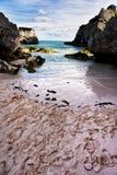Bermuda Iddylic landskap på solnedgången Arkivbild