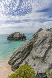 Bermuda Island. Best of Bermuda Beaches, activities Stock Image
