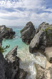 Bermuda Island. Best of Bermuda Beaches, activities Royalty Free Stock Image