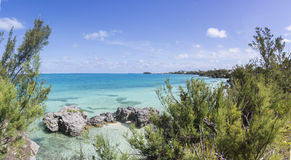 Bermuda Island. Best of Bermuda Beaches, activities Stock Photo