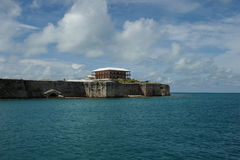bermuda karibisk fort Royaltyfri Foto