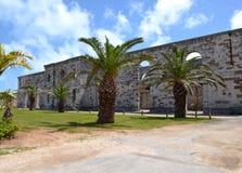Bermuda - Królewski Morski Dockyard Fotografia Stock