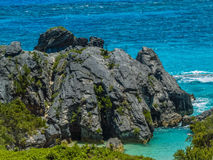 Bermuda Lava Rock Stock Photography