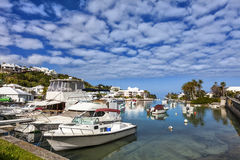 Bermuda Marina Stock Photos