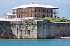 Bermuda maritimt museum & kommissionärs hus arkivfoton