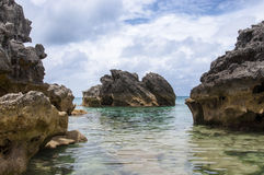Bermuda plaża. fotografia stock