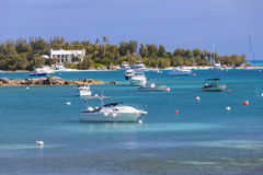 Bermuda Pleasure Boats Royalty Free Stock Images
