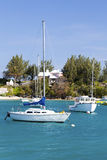 Bermuda Pleasure Boats Royalty Free Stock Photos