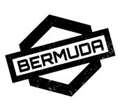 Bermuda rubber stamp Stock Images