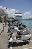 Bermuda  Scooters Stock Image