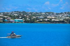 Bermuda by the sea royalty free stock photo