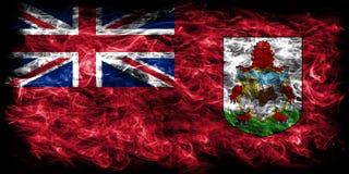 Bermuda smoke flag, British Overseas Territories, Britain depend. Ent territory flag Stock Image