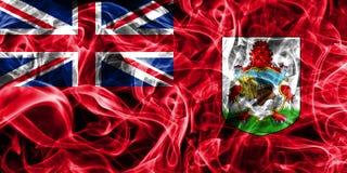 Bermuda smoke flag, British Overseas Territories, Britain depend. Ent territory flag Royalty Free Stock Photography