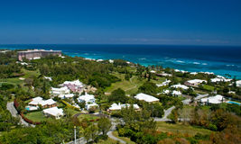 Bermuda South Shore. A view of the South Shore of Bermuda Stock Image