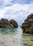 Bermuda strand. Arkivbilder