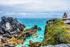 Bermuda View Horseshoe Bay Royalty Free Stock Image