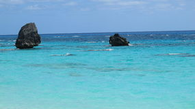 Bermuda-Wasser Stockfotografie
