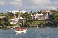 Bermuda Waterfront Stock Photography