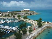 Bermuda-Werft Stockfotografie
