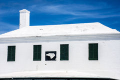 Bermuda White Roof Stock Images