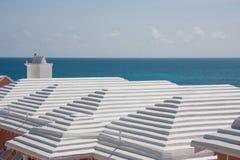 Bermudaanse daken royalty-vrije stock foto's