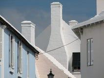 Bermudian Chimneys Royalty Free Stock Photo